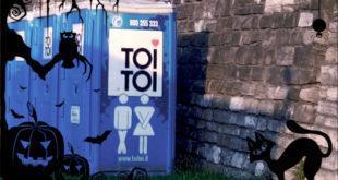 Idee stravaganti per Halloween: vestirsi da bagno chimico
